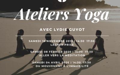 Prochains ateliers yoga